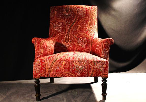 fauteuil anglais - Fauteuil Napoleon 3